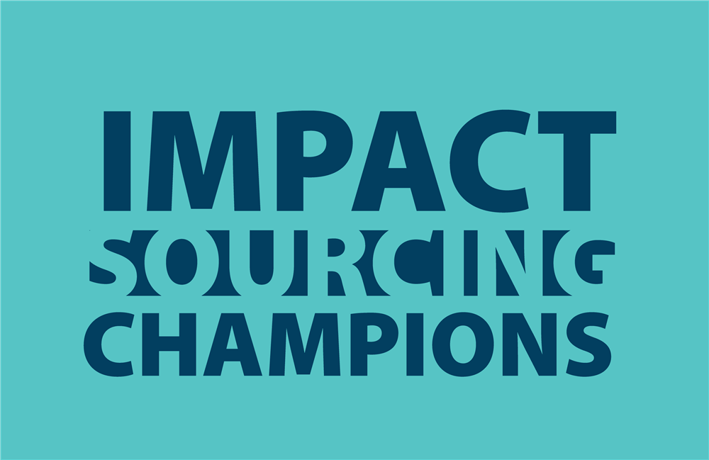 Impact Sourcing Champions logo