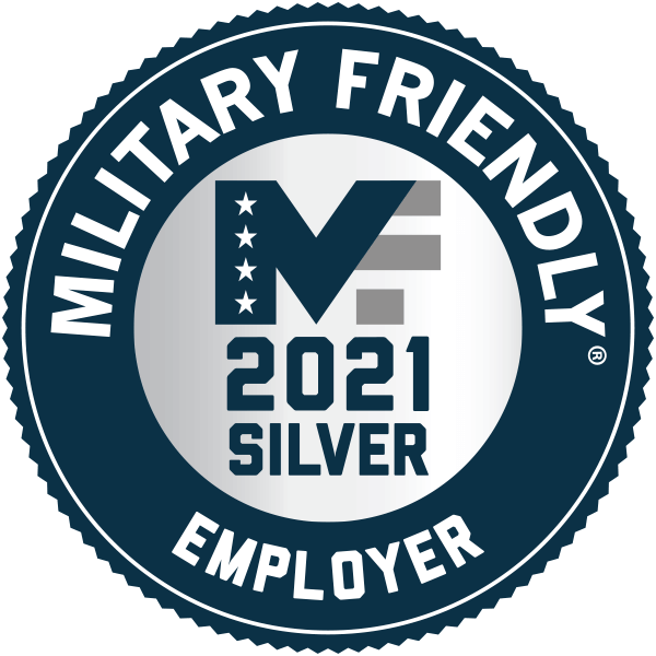 /2021 Silver Military Friendly Employer
